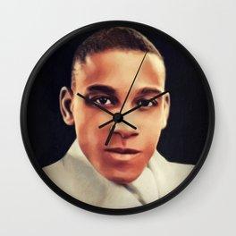 Chick Webb, Music Legend Wall Clock