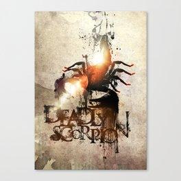 Deadly Scorpion Canvas Print