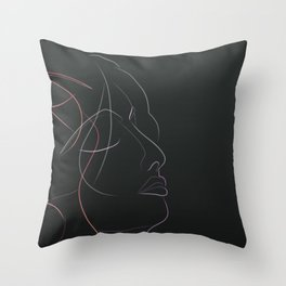 Authîel Rainbow Minimalist Throw Pillow