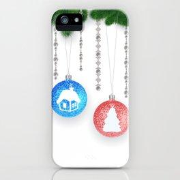 Christmas decoration iPhone Case