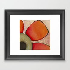 Tapas Abstract 2 Framed Art Print