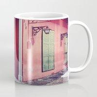 door Mugs featuring Door by wendygray