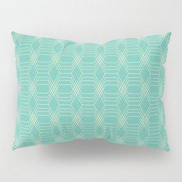 hopscotch-hex sea Pillow Sham