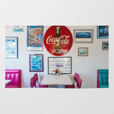 Diner Route 66 Rug