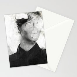 Faceless   number 01 Stationery Cards