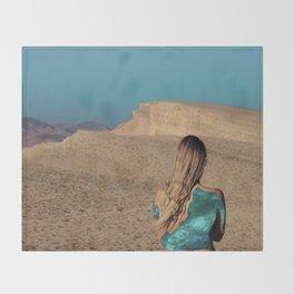 Desert #3 Throw Blanket