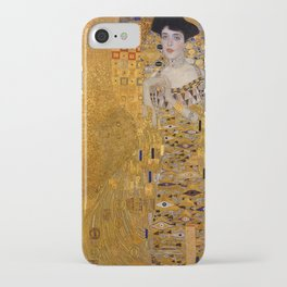 The Woman In Gold Bloch-Bauer I by Gustav Klimt iPhone Case