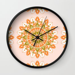 Mandala VI Wall Clock