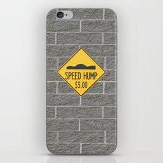 SPEED HUMP  iPhone & iPod Skin