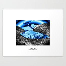 MOUNTAIN GLACIER TOUR I Art Print