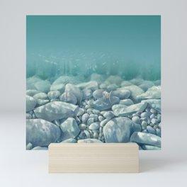 Vermont Stream Bed Mini Art Print
