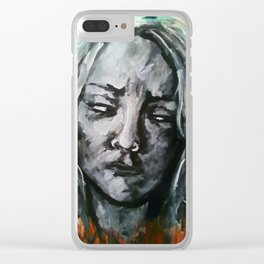 Uneasy Feelings (aftermath) Clear iPhone Case
