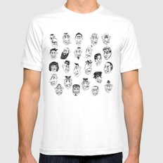 Shafted! Character sheet Mens Fitted Tee SMALL White