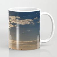 san diego Mugs featuring San Diego Sunset by lightpainter