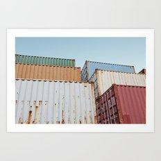 Curaçao - Container II Art Print