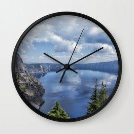 Crater Lake from the North Rim, No. 2 Wall Clock