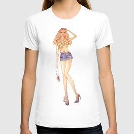 a girl T-shirt
