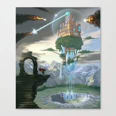 Sky Fortress Canvas Print