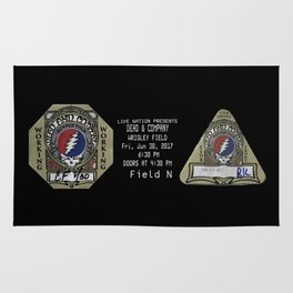 Grateful Dead Summer Tour 2017 Rug