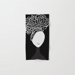 Iconia Girls - Hanna Black Hand & Bath Towel