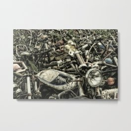 Post apocalyptic Metal Print