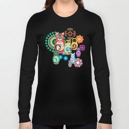 матрешка кошки - Catryoshka Long Sleeve T-shirt