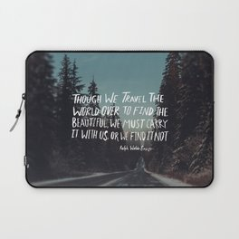 Road Trip Emerson Laptop Sleeve
