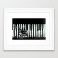 rustic Framed Art Prints featuring Rustic by Mandi Ward