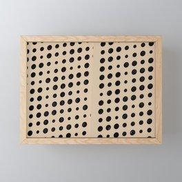 Dots & Circles Framed Mini Art Print