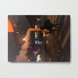Pipeline in the city... Metal Print