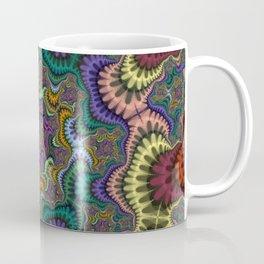 Fractal Pillars Coffee Mug