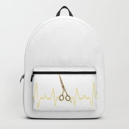 Hairstylist Heartbeat Backpack