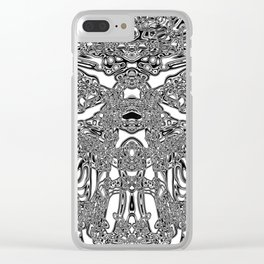 Brain activity Clear iPhone Case
