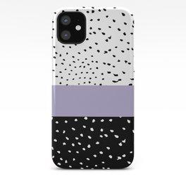 Dalmation Dots iPhone Case