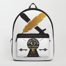 Imagination Is The Best Weapon Backpack