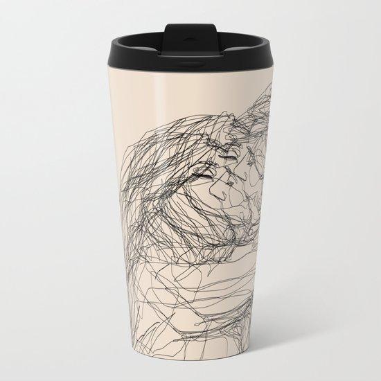 make-out? Metal Travel Mug