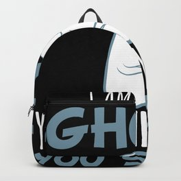 I Am Really A Ghost Halloween Boo Backpack