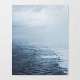 Storms over the Pacific Ocean Canvas Print