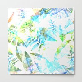 Tropical Leaf llV Metal Print