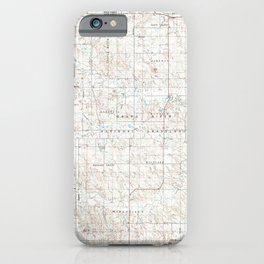 SD Lemmon 344693 1984 topographic map iPhone Case