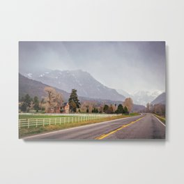 Road to the San Juan Mountains Metal Print