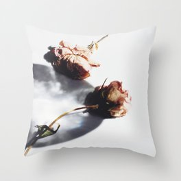 SUN AND FLOWERS Throw Pillow