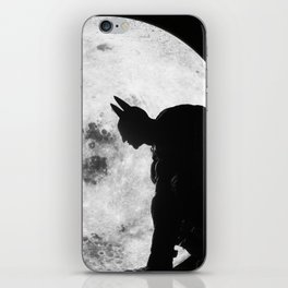 The Bat in the Pale Moonlight iPhone Skin