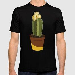 YELLOW POT CACTUS T-shirt