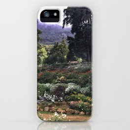 Sri Lankan Garden iPhone Case