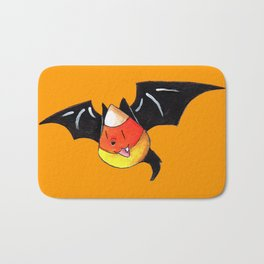 Candy Corn Bat Bath Mat