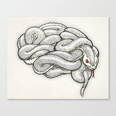 Brainsnake Canvas Print