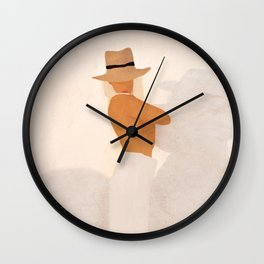 Summer Heat IV Wall Clock