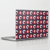 fierce Laptop & iPad Skins featuring Downright Fierce by Kid Khronos