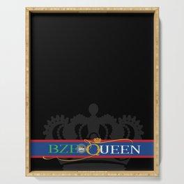 BZE Queens Serving Tray